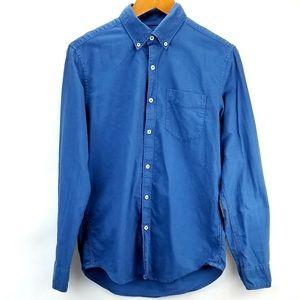 AEO Indigo Soft Oxford Cotton Shirt